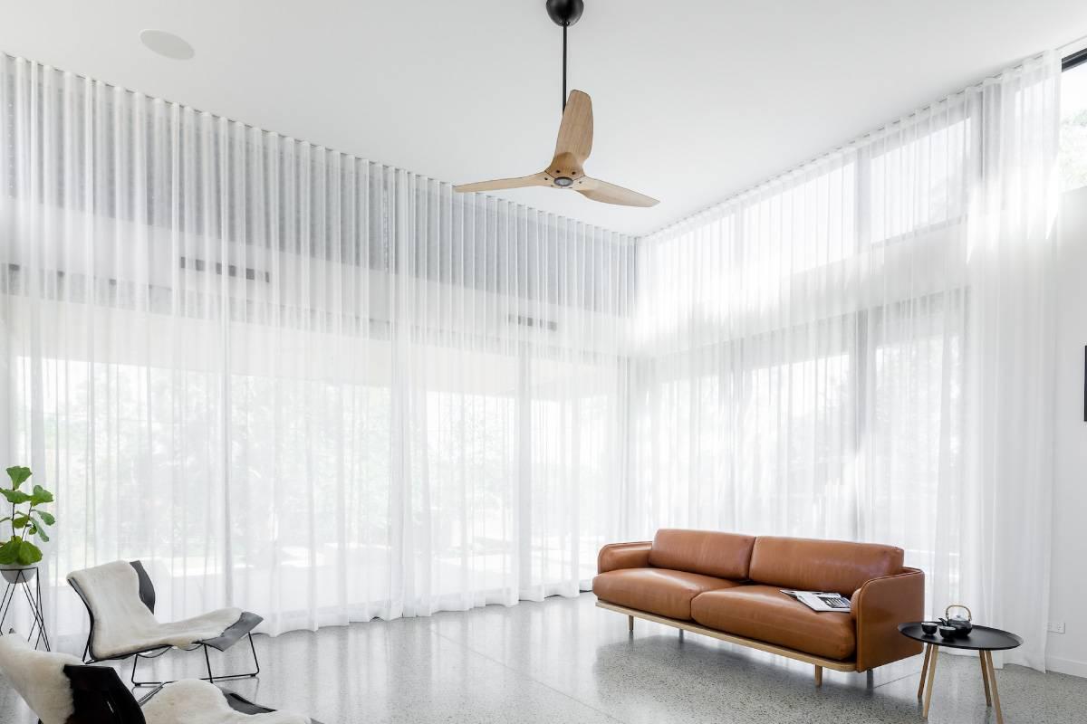 Ripple fold drapery, simple and elegant style
